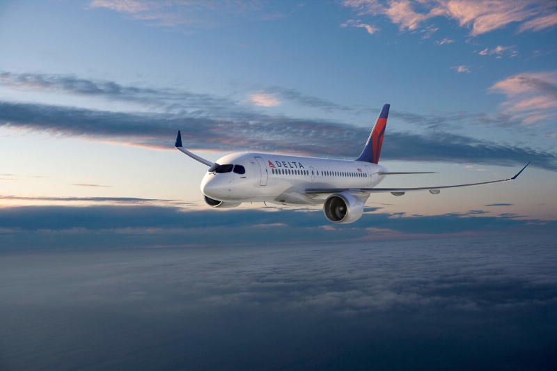 Delta Orders State-of-the-Art, Fuel-Efficient Bombardier C Series (PRNewsFoto/Delta Air Lines)