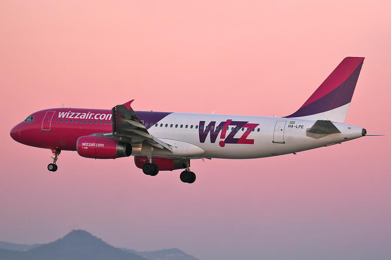 Official WIZZ Air Airways Sticker Iceland