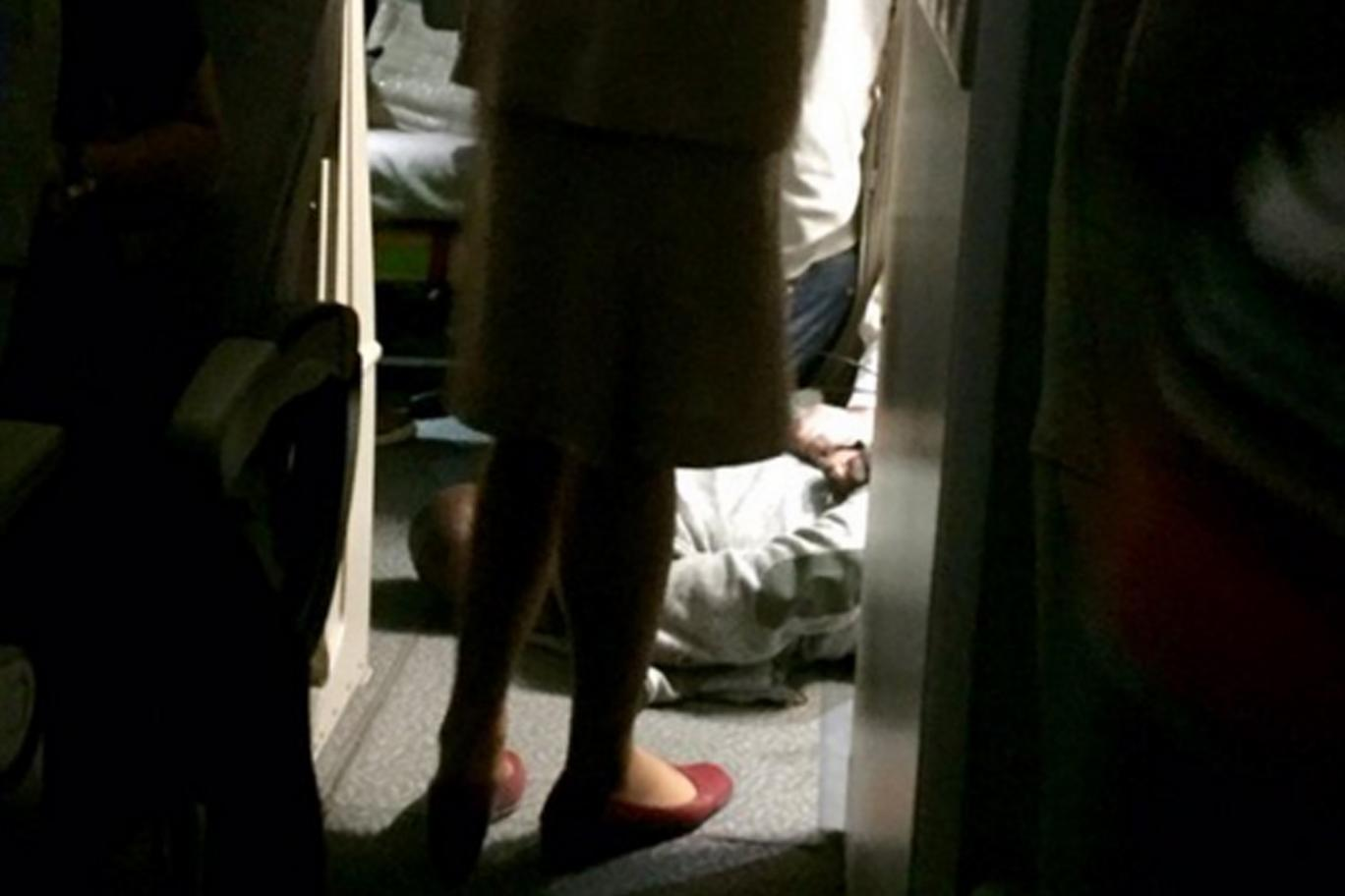1-Passenger-restrained-by-cabin-crew-and-police-after-mid-air-attack-on-flight-from-Dubai-to-London
