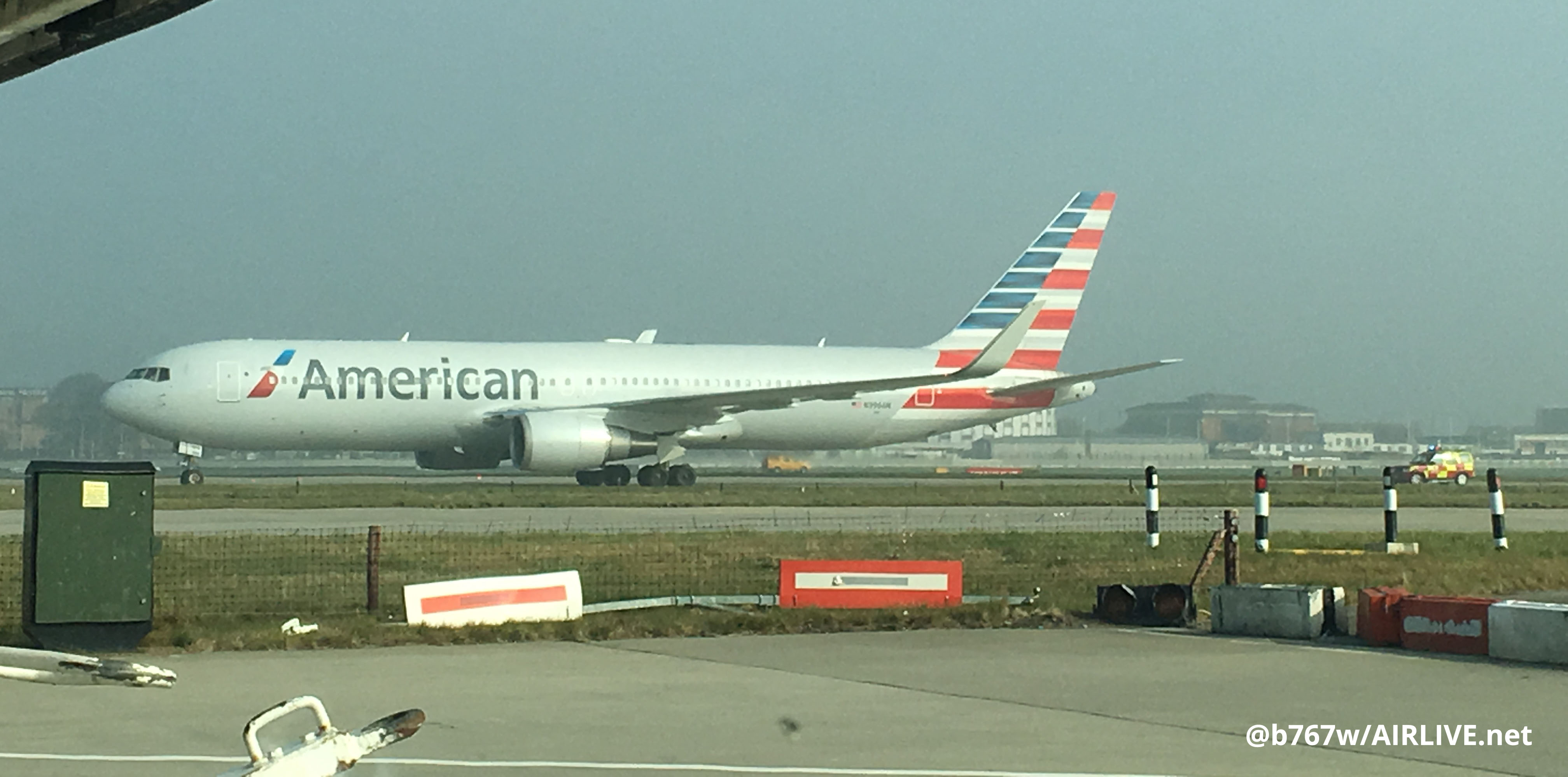 BREAKING American Airlines Boeing 767 #AA87 reported ...