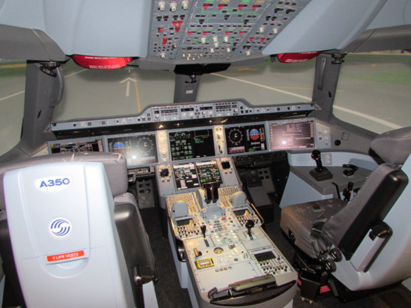 Picture of the simulator - From Airbus.