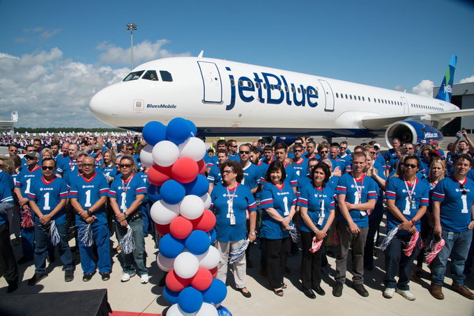 JetBlue Delivery Day