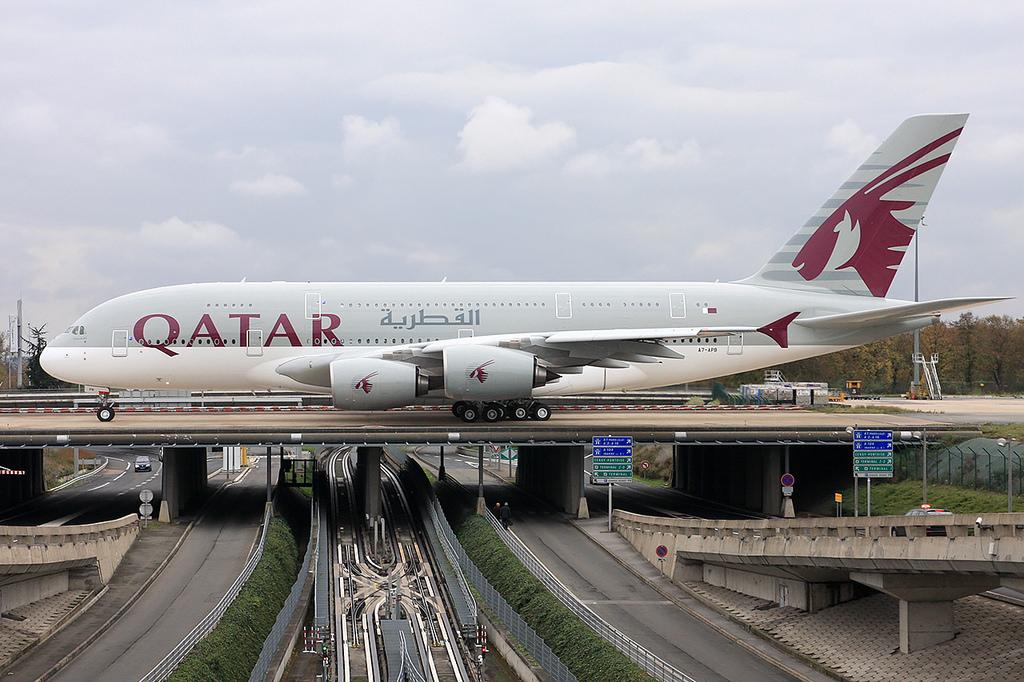 News qatar airways to launch 4th a380 destination for Aereo barcelona paris