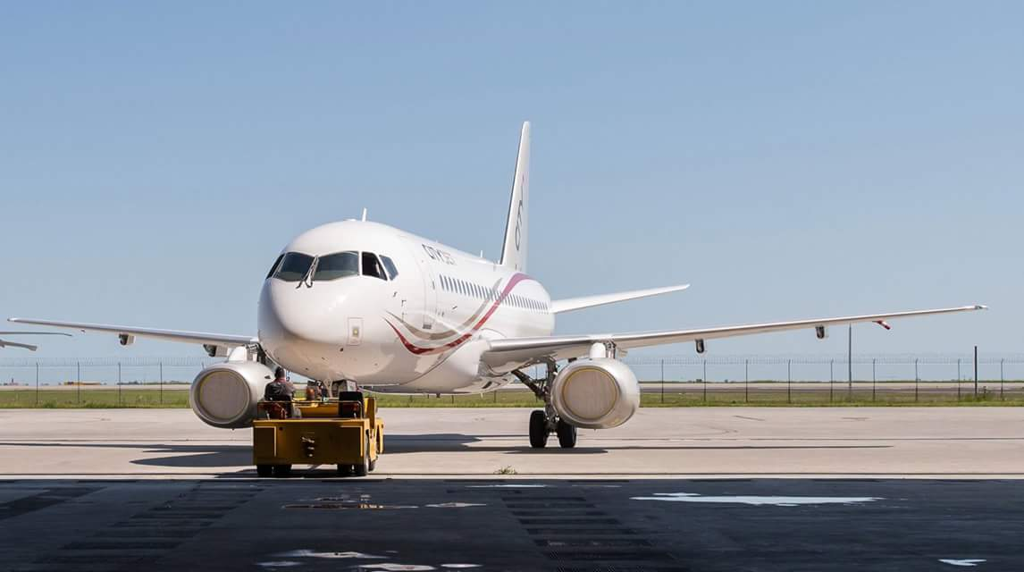 Picture from CityJet via Facebook.