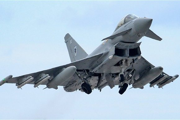 BREAKING Sonic booms from RAF Typhoon jets over Yorkshire ...