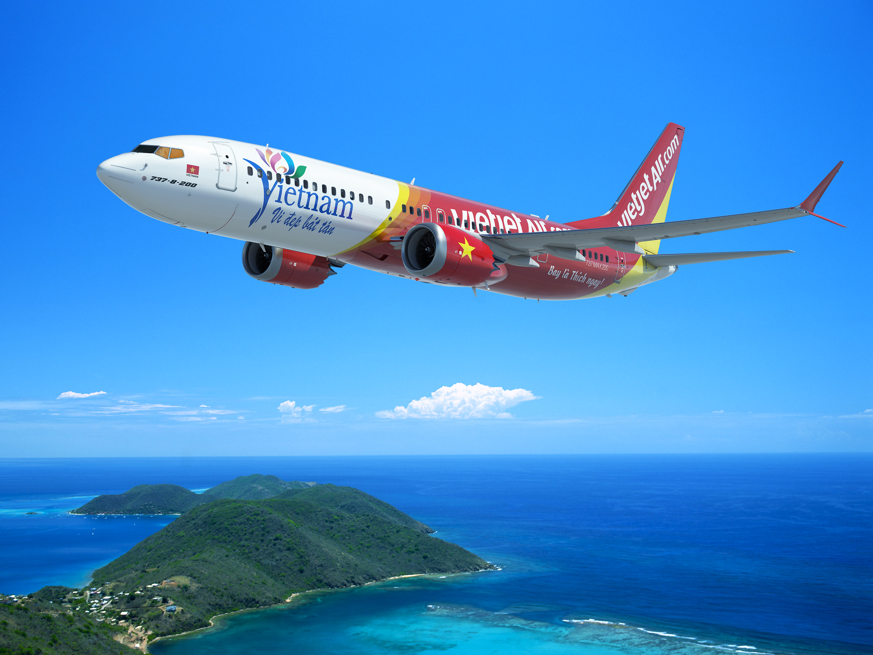 Picture from Boeing - This order from VietJet marks the biggest order in Vietnamese Aviation history!