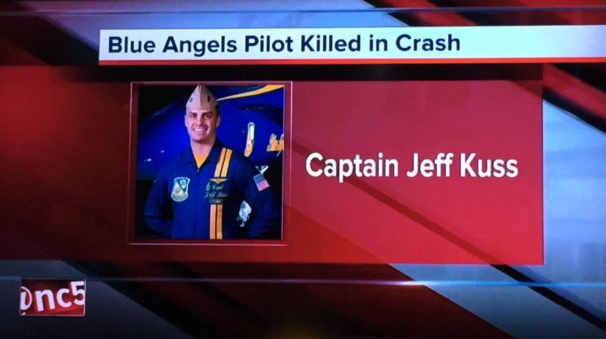 Killed Blue Angels pilot identified - CNNPolitics.com  |Blue Angel Crash Death