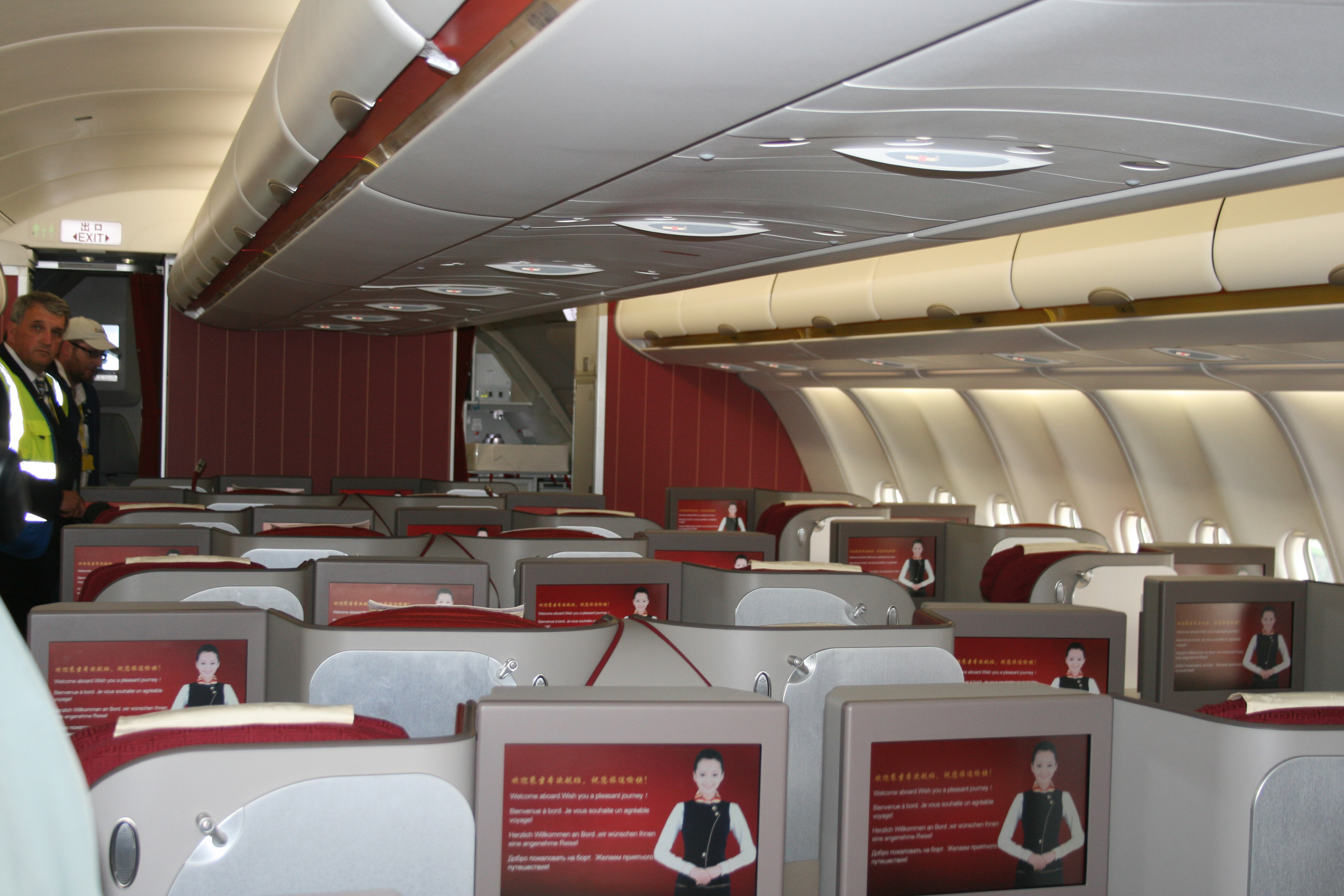 Hainan Airlines Business Class - Picture by James Field.