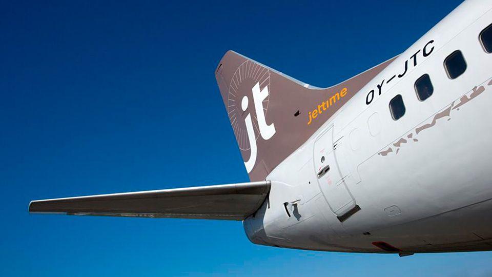 Jet Time lentoyhtiö finnmatkat