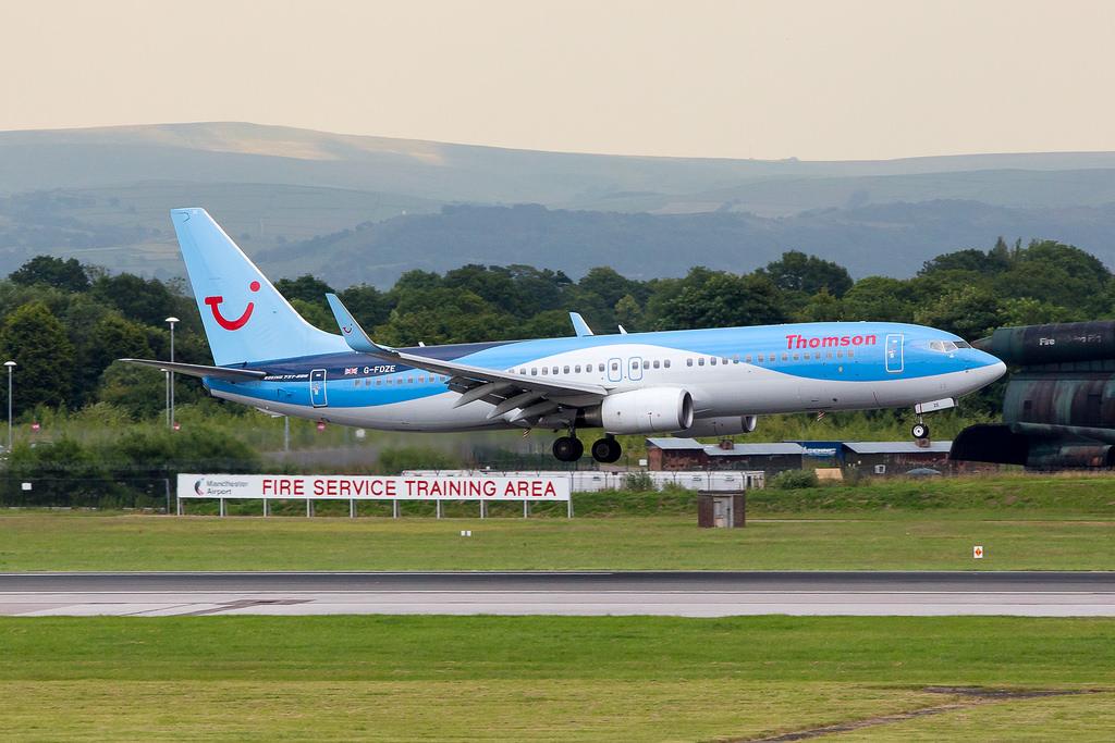 EMERGENCY Severe bird strike today on Thomson Boeing 737 # ...