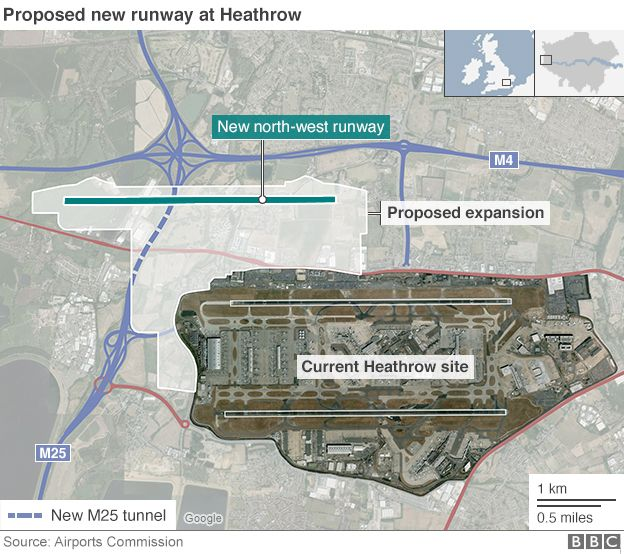 News Heathrow Airport Could Build A New Runway Without Breaking European Pollution Laws