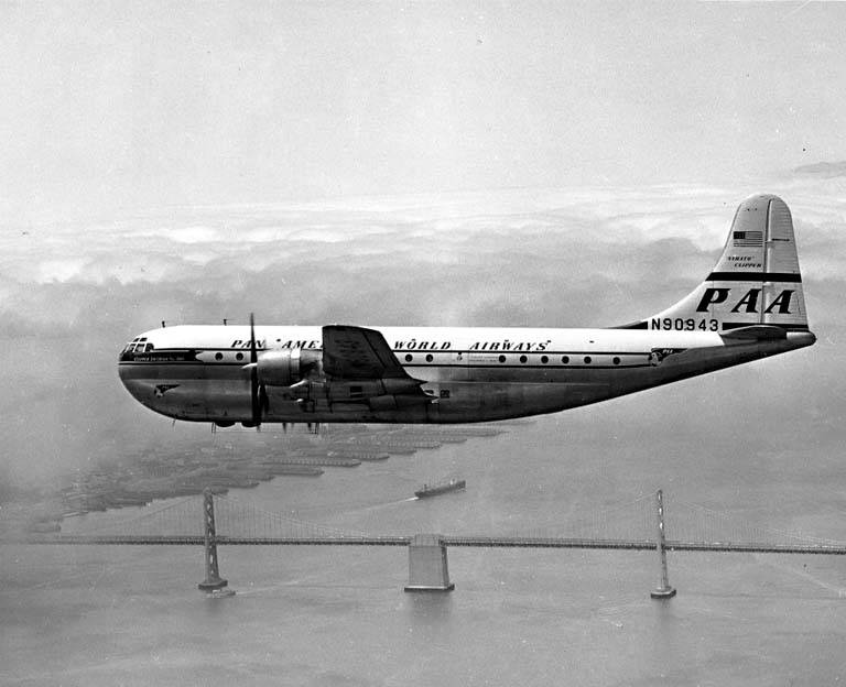 Onthisday In 1956 Pan Am Flight 6 Ditches In The Pacific