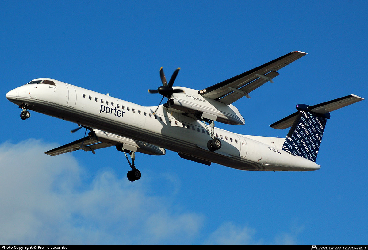 Drone Delivery Canada >> BREAKING Porter Airlines Dash 8-400 was forced to take evasive action to avoid a drone at ...
