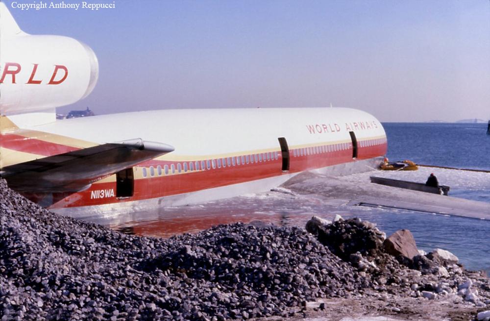 Onthisday In 1982 World Airways Flight 30 Overruns The