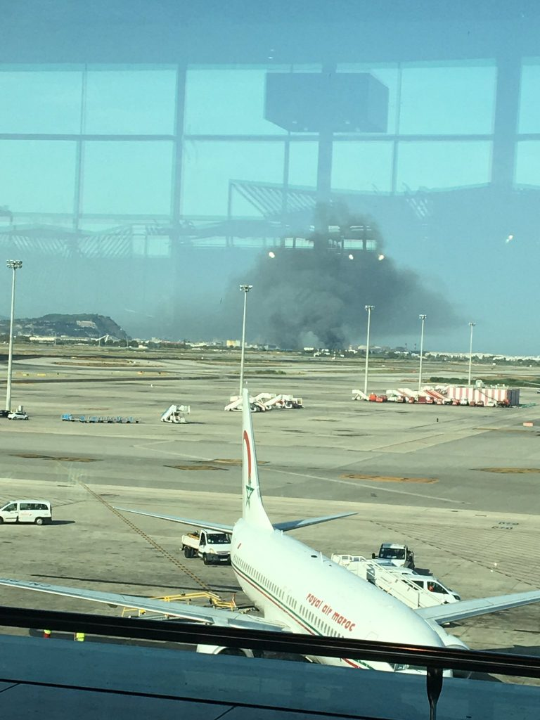 Breaking Fire Reported At Barcelona Airport Aviation