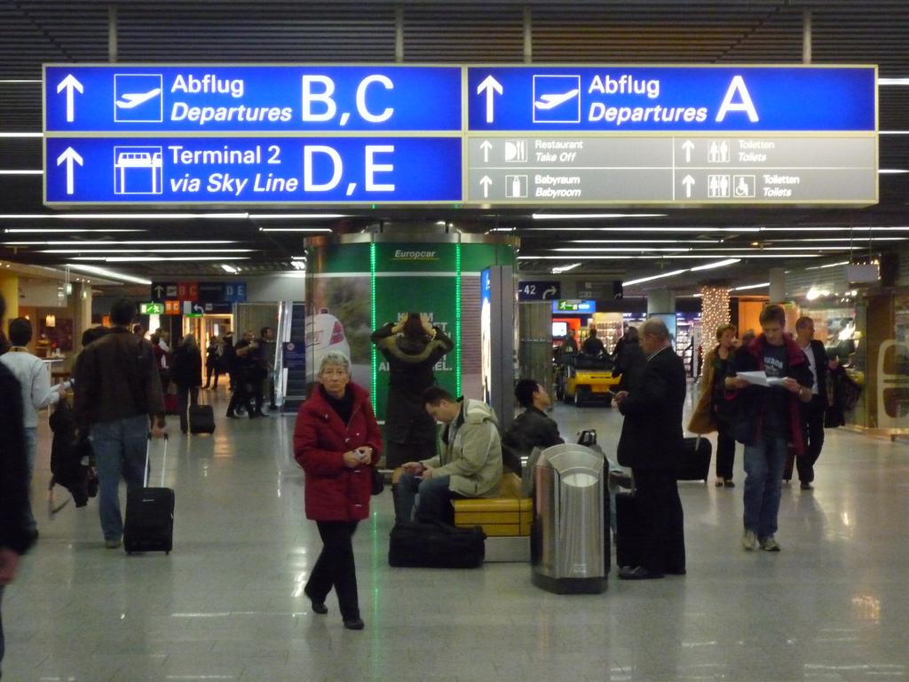 Frankfurt Flughafen Terminal 1 Halle B
