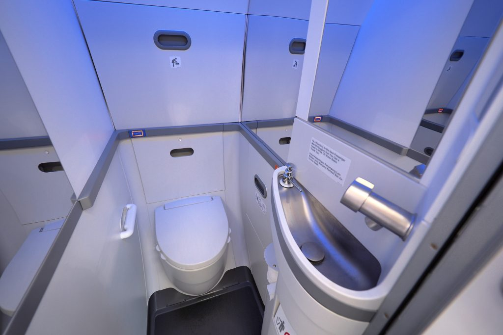 Flight Attendants Complain About The Tiny Bathrooms On The