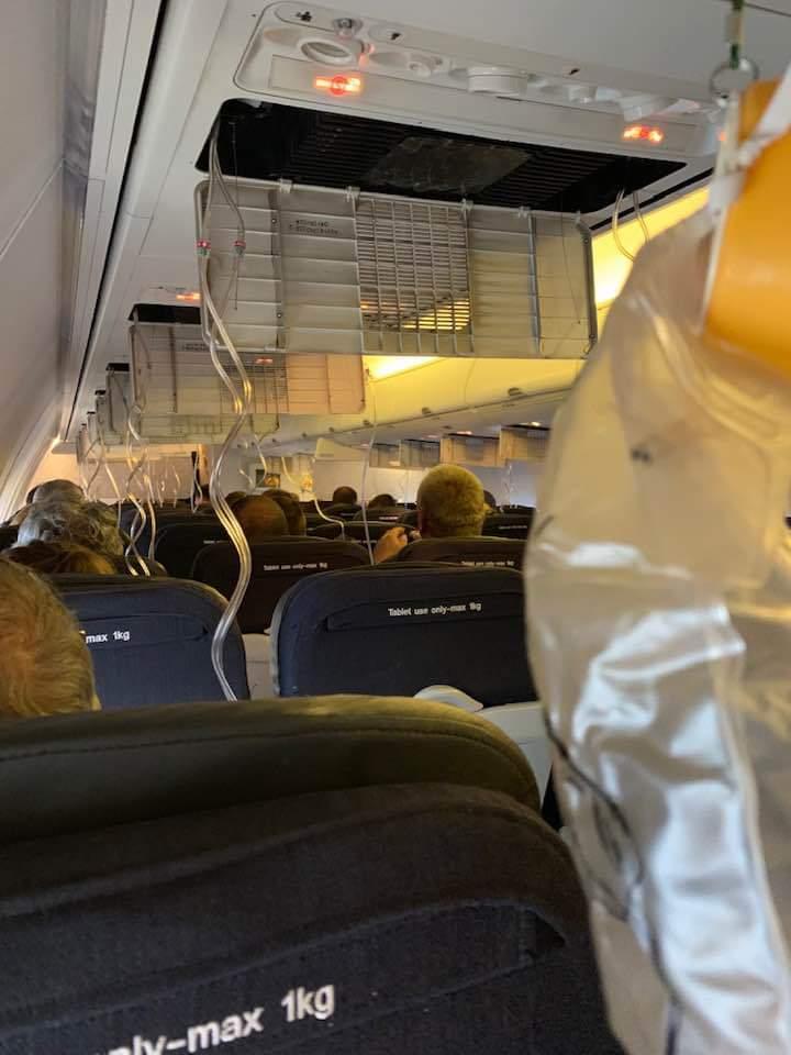 INCIDENT Qantas #QF706 suffered cabin depressurisation, forcing