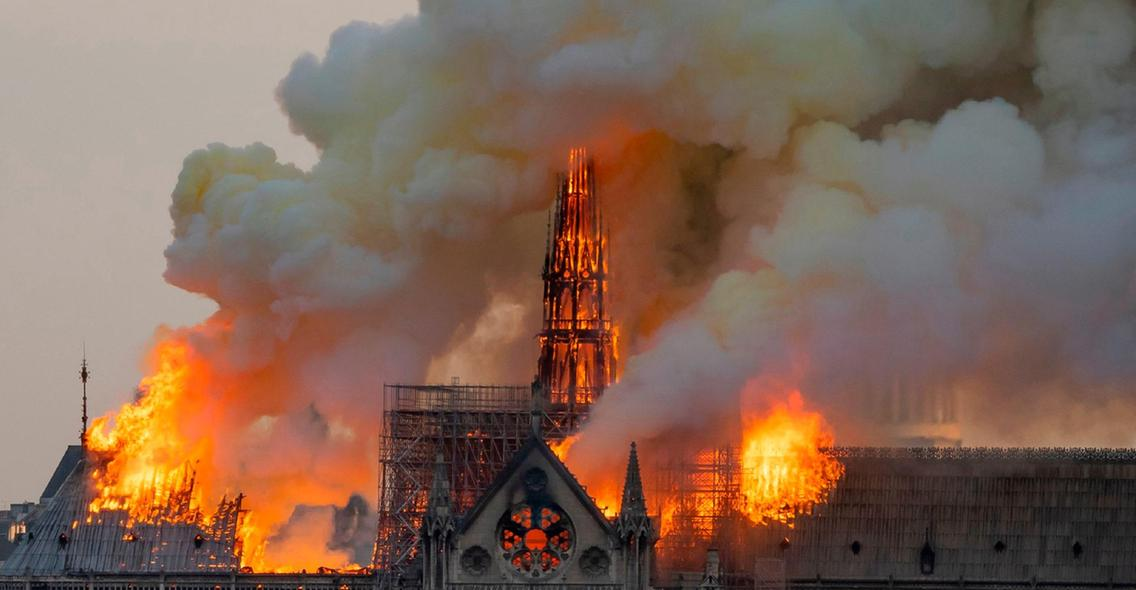 Air France-KLM will offer free flights for all official partners involved in the reconstruction of Notre-Dame Cathedral - Aviation news and services