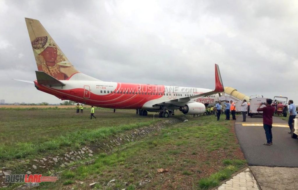 INCIDENT Air India Express Boeing 737-800 overshoots runway
