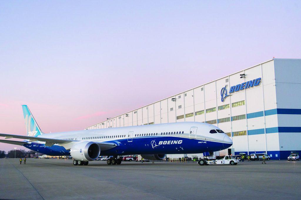 Boeing 787 10 charleston