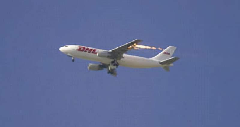 Nine other cases of civil aircraft shot down by military action