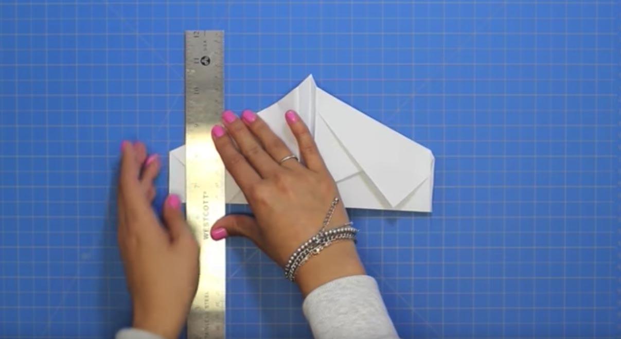 Propeller plane Miyajima Noboru | Gilad's Origami Page | 659x1207
